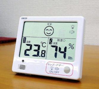 ダニが好む温度と湿度